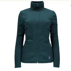 Spyder Endure Full Zip Core Sweater Jacket Sz M